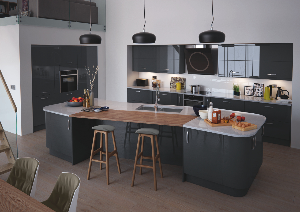 Vivo Anthracite Kitchen Doors Doors And Handles Uk