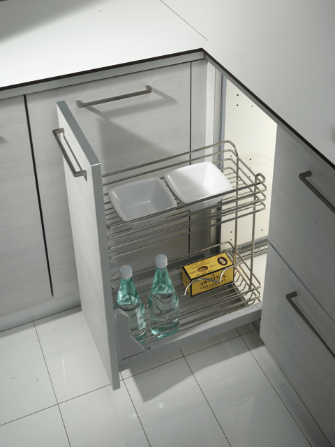 Dynamic 300mm Pull Out Base Doors And Handles Uk