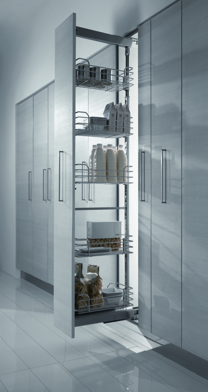 Dynamic Tall Larder Unit 300 And 400mm Doors And Handles Uk