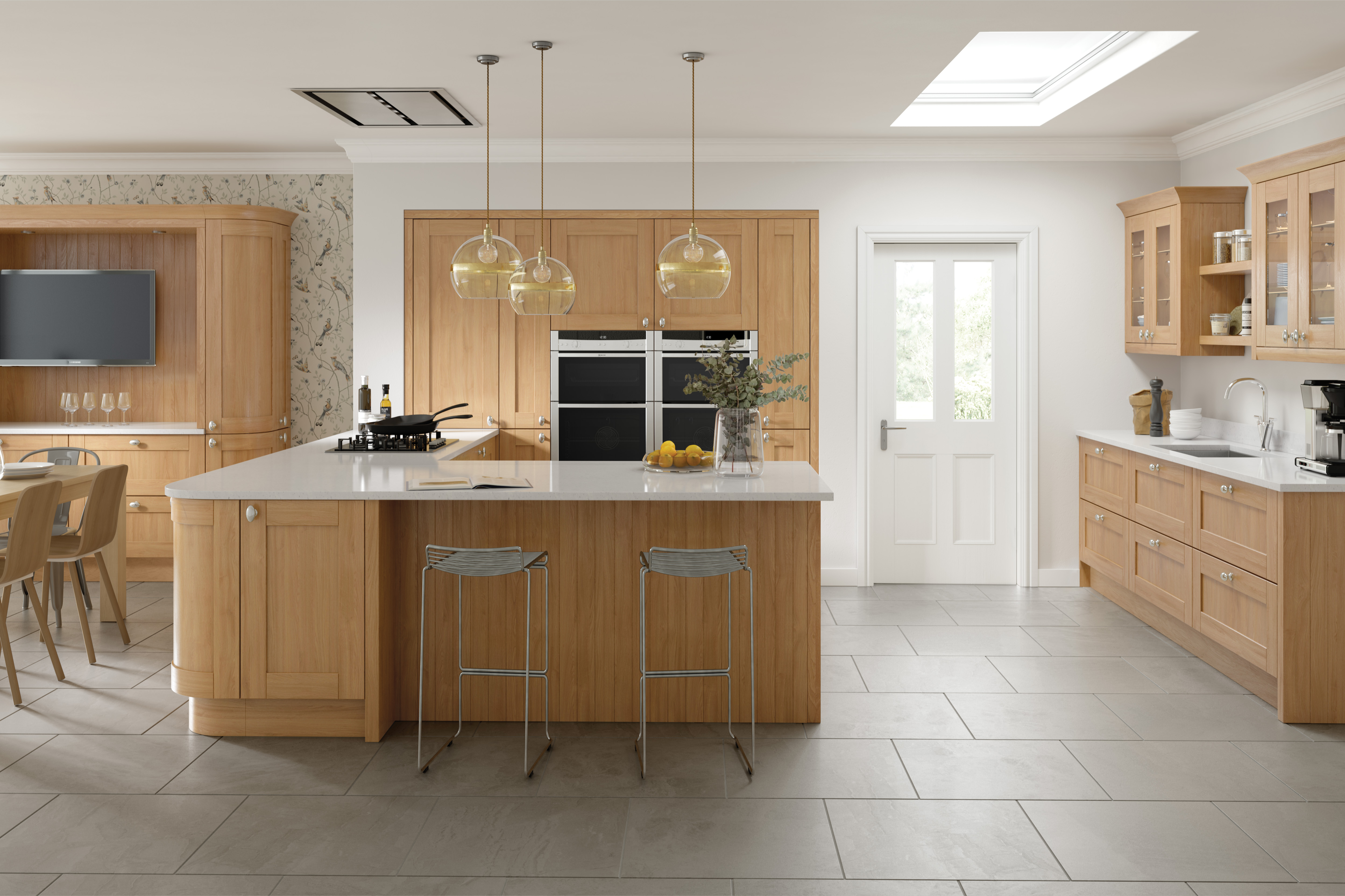 Cambridge Oak Kitchen Doors Doors And Handles Uk