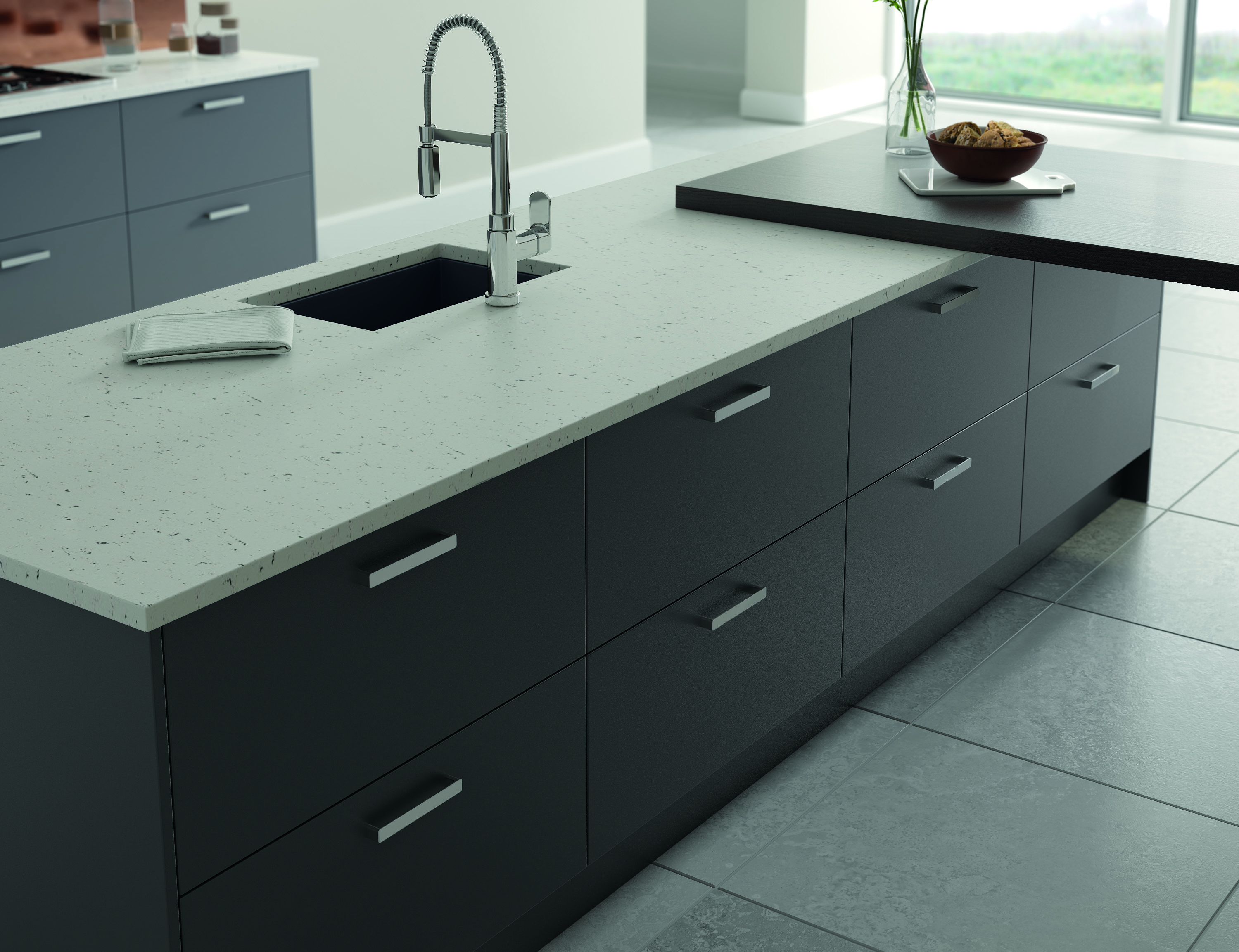 Vivo Matt Anthracite Kitchen Doors Doors And Handles Uk