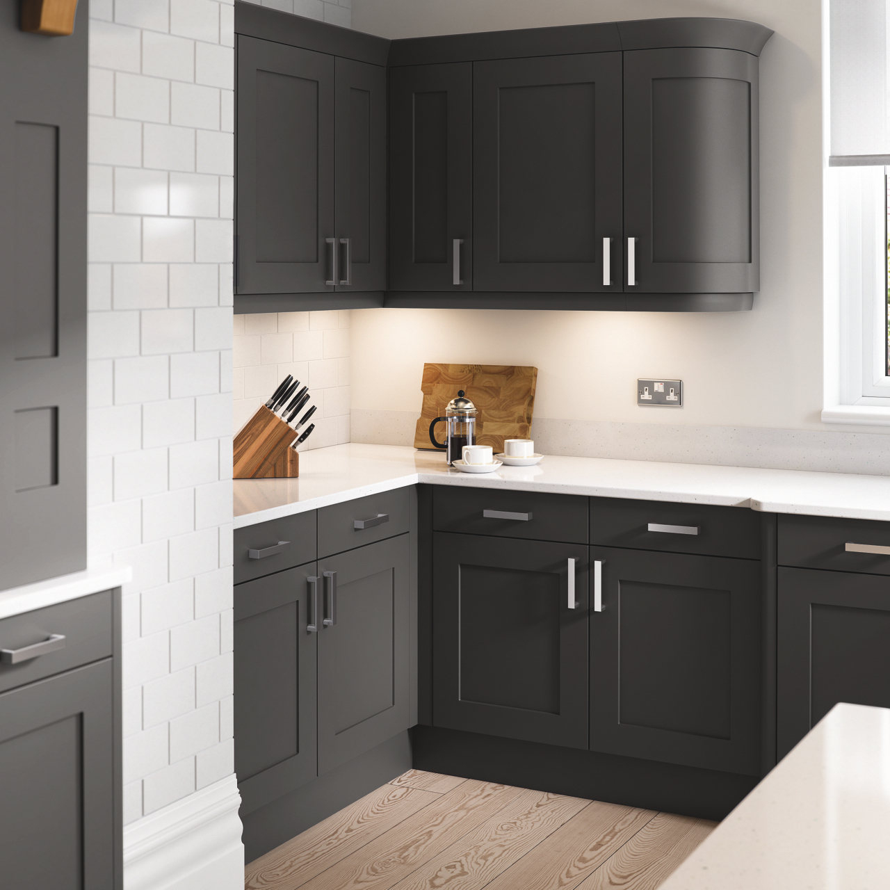 Oxford Anthracite Kitchen Doors Doors And Handles Uk