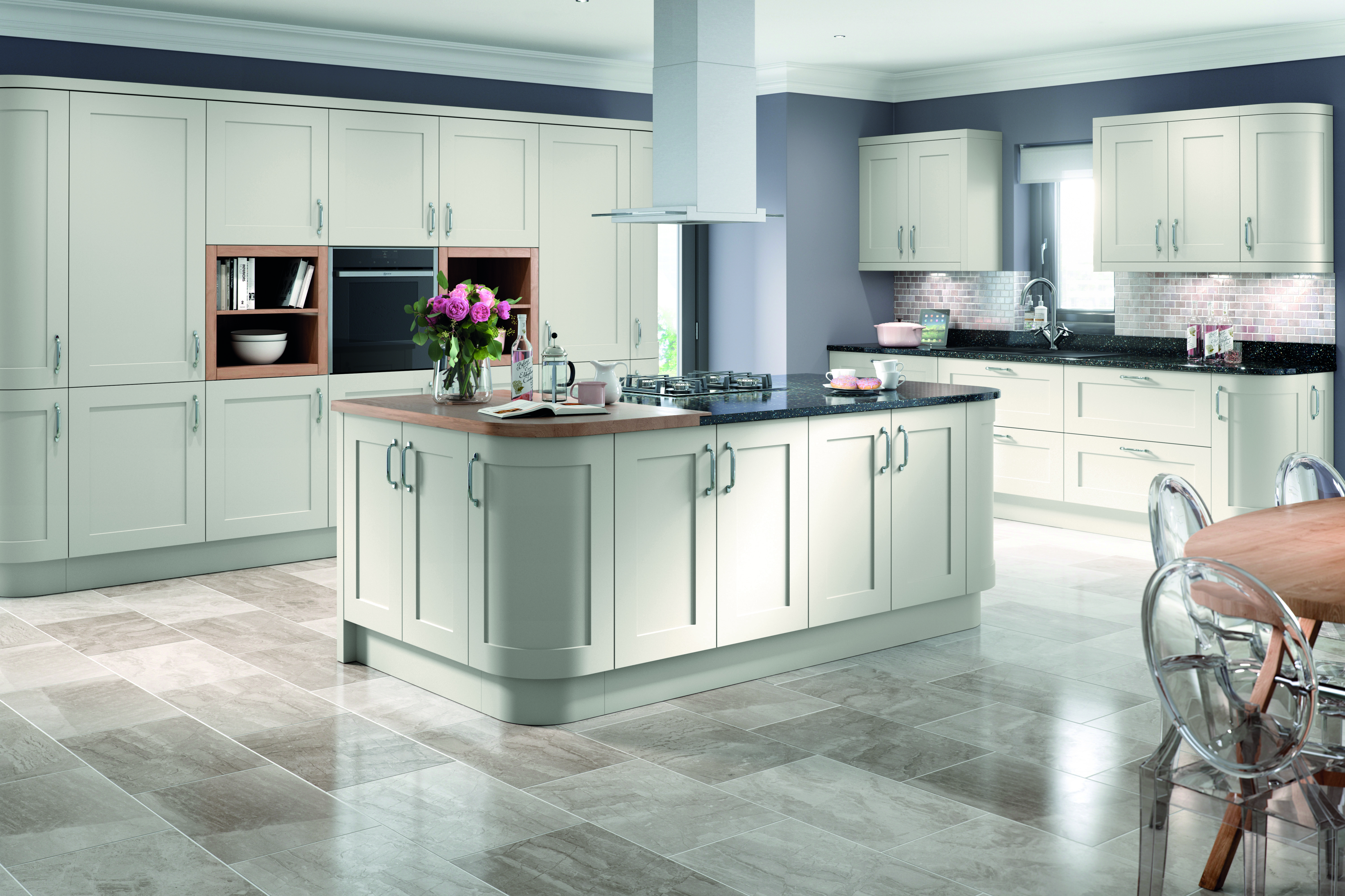Oxford Light Grey Kitchen Doors Doors And Handles UK - Light grey kitchen doors